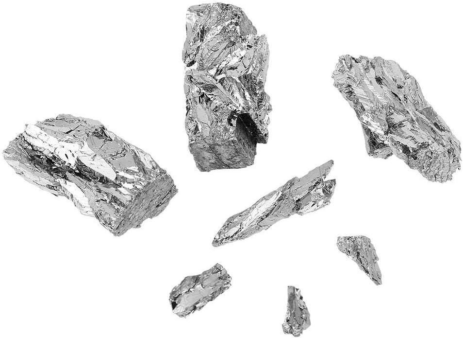 CHUNK 8 Pounds Wt in Metal Bars BISMUTH Metal 4N INGOT 99.99/% Pure