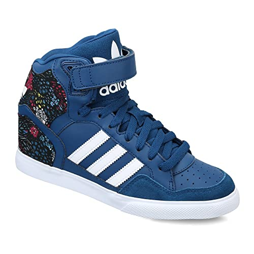 6f0494e656cc adidas Originals Women s Extaball Up W Leather Sneakers  Buy Online at Low  Prices in India - Amazon.in