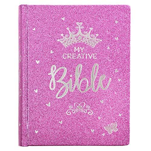 My Creative Bible for Girls, Journaling Bible - ESV - Purple Glitter - Bible Glitter