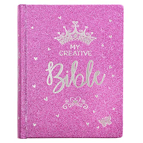 ESV Holy Bible, My Creative Bible For Girls, Purple Glitter Hardcover Bible w/Ribbon Marker, Illustrated Coloring, Journaling and Devotional Bible, English Standard Version Hardcover – November 5, 2018