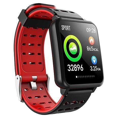 ZJHNZS Reloj Inteligente Smartwatch Pantalla IPS de 1.3 Pulgadas ...