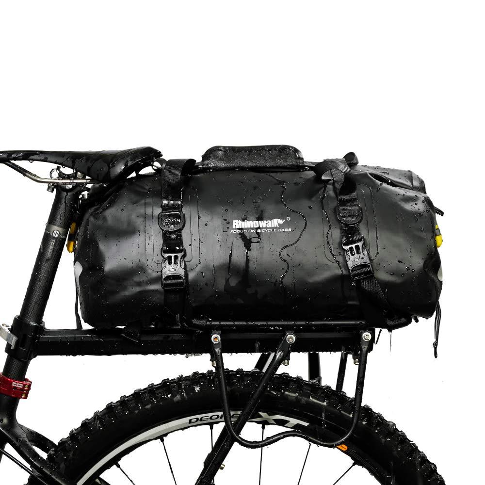 for Cargo Rack Waterproof Bike Pannier Biycle Postman Saddle Bag Shoulder Bag Laptop Pannier Rack Bicycle Bag Professional Cycling Accessories Alston Gym Bag Bike Trunk Bag