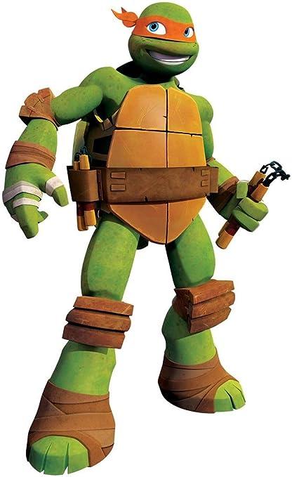 Amazon.com: MIKEY las tortugas ninja TMNT – Adhesivo ...