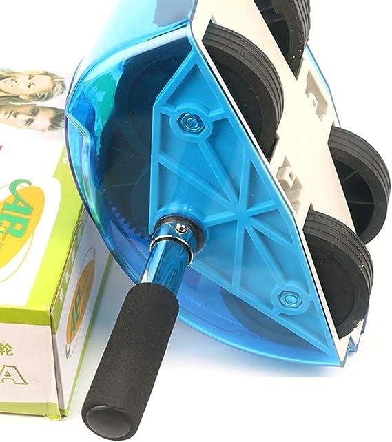 AILOVA Roue Musculaire Abdominale Roulette Musculaire Exerciseur pour Gym Fitness Exercice Rouleau de Remise en Forme Fitness Equipment