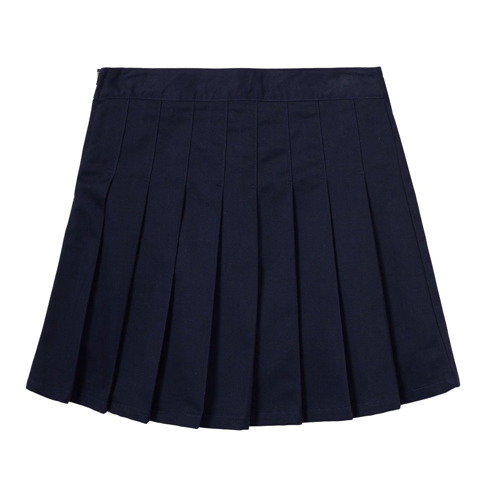 French Toast Big Girls Peached Twill Pleated Scooter