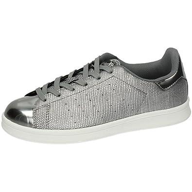 XTI 46367 Deportivas Negras Mujer Zapatillas: Amazon.es: Zapatos y complementos