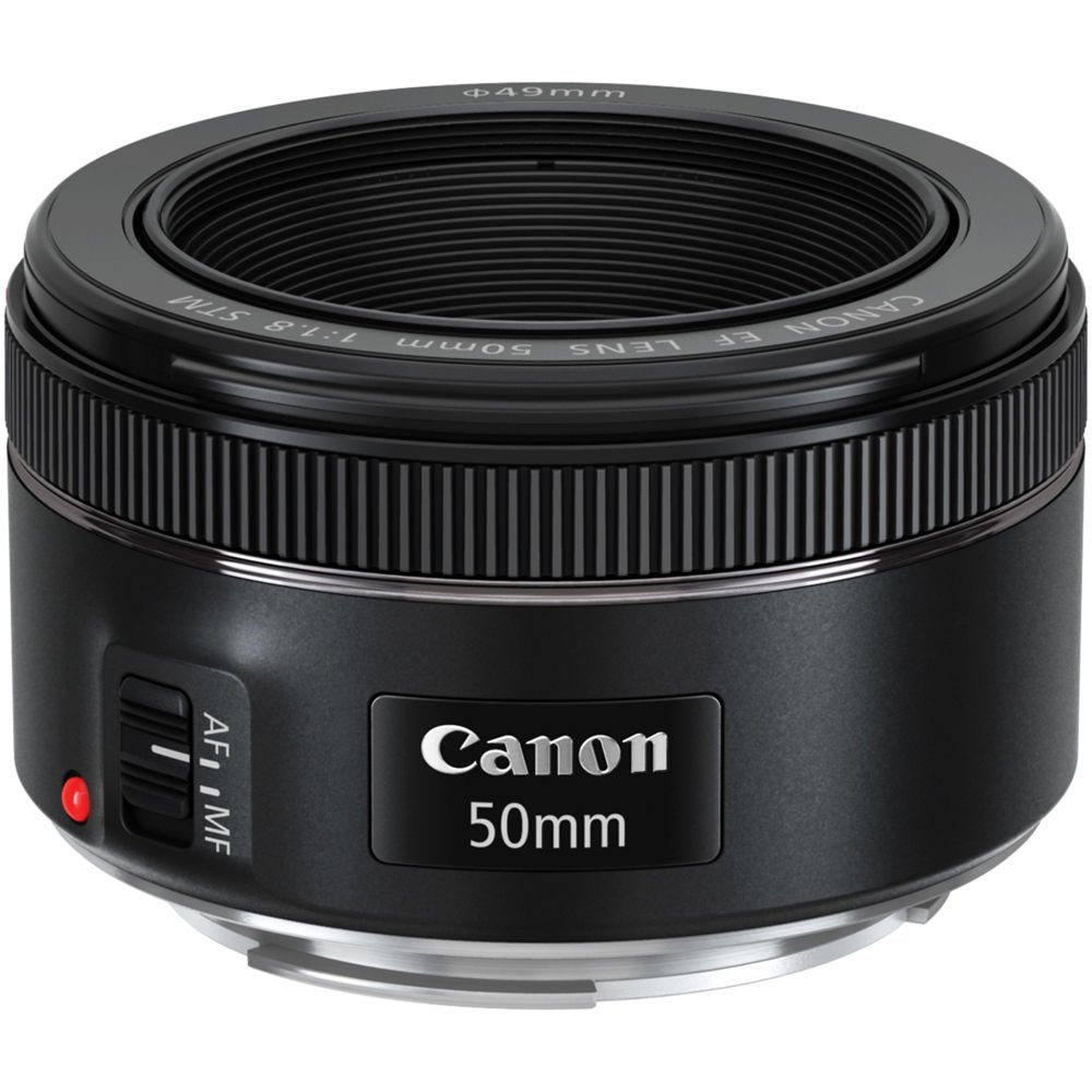 Canon EF 50mm f/1.8 STM Lens with Case + 3 UV/CPL/ND8 Filters + Kit for EOS Digital SLR Cameras by Canon (Image #2)
