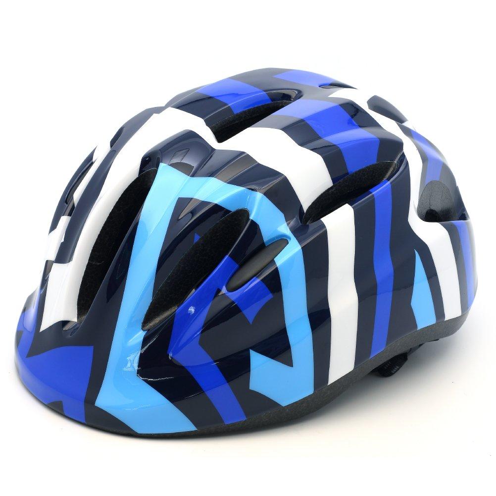 M Merkapa Kids Bike Helmet Adjustable Bicycle Helmets for Toddler and Youth (Blue, S)