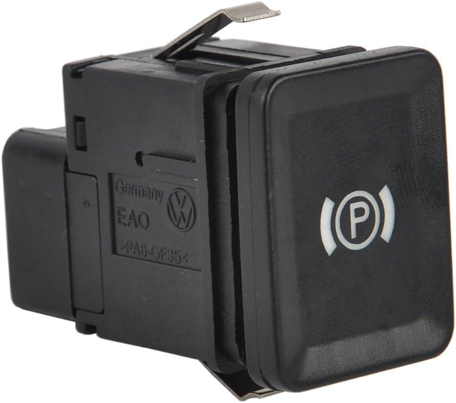 B Baosity 12V Parkbremsschalter Parkbremse Handbremsschalter Taster f/ür VW Passat 3C R36 CC