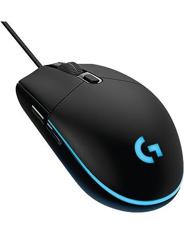 Logitech G203 Prodigy, Ratón óptico para Gaming con Cable, 8.000 DPI, LED Personalizable