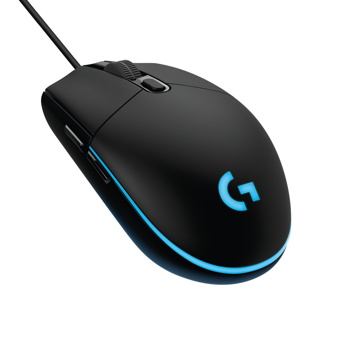 PC // Mac On-Board Memory Rubber Sides - Black 6 Buttons Optical Gaming Mouse RGB Illumination SteelSeries Rival 310