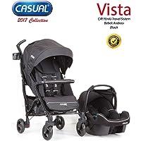 Casual Vista Travel Sistem Bebek Arabası Black
