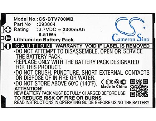 Cameron Sino Li-ion 3.70V 2300mAh / 8.51Wh attery for Oricom/BT 093864, Fits BT Video Baby Monitor 7000,Baby Monitor 7500,Video Baby Monitor 7500 Lightshow, Oricom SC870,SC860 by Cameron Sino