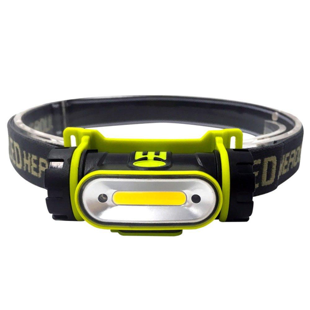ERHANG Stirnlampen Scheinwerfer Stirnlampe Taschenlampe Blendung Induktion USB Aufladen Outdoor Wasserdicht Headset