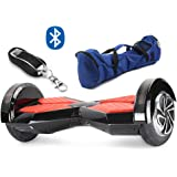Gooplayer X1L8 - UL2272 Certified Hoverboard - 8 Inch Lanborghini Electric LED on Wheel Self-Balancing Scooter with Bluetooth