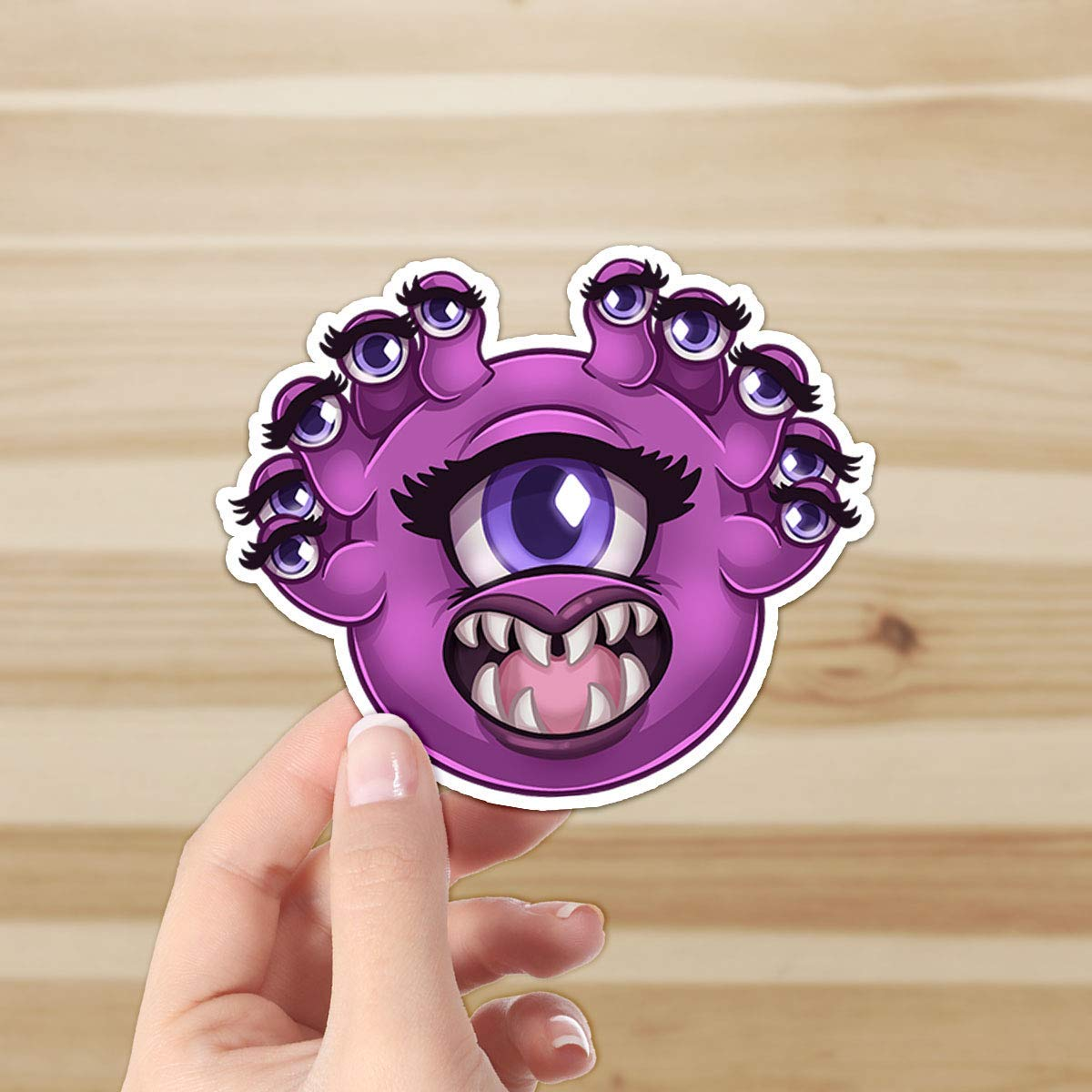 Cute Beholder - DnD - Original Artwork Sticker