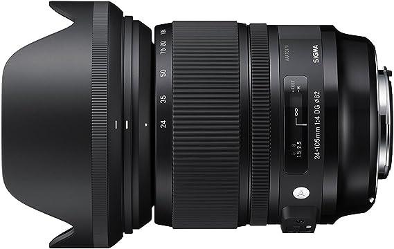 Sigma 24-105mm f/4 DG OS HSM - Objetivo para cámara réflex Canon ...