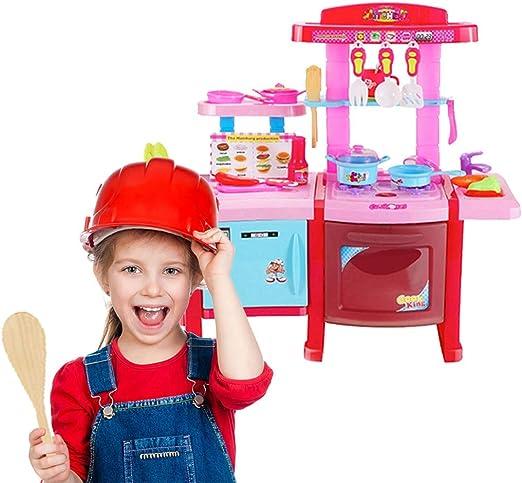 Amazon.com: Novania Kitchen Pretend Playset, Children\'s ...