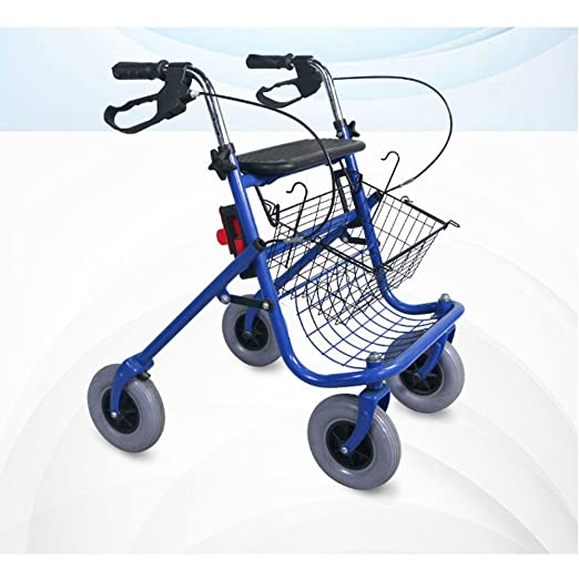 XINZ Andador para Ancianos De 4 Ruedas   Aluminio ...