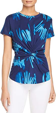Kenneth Cole New York Women's Knotted Front Top