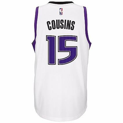 save off 7de47 84bda Amazon.com : DeMarcus Cousins Sacramento Kings NBA Adidas ...