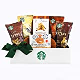 California Delicious Starbucks Sampler Coffee Gift Basket