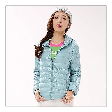 6aee5c850 Amazon.com: Hangwucha Autumn Winter Down Jackets for Women Hooded ...