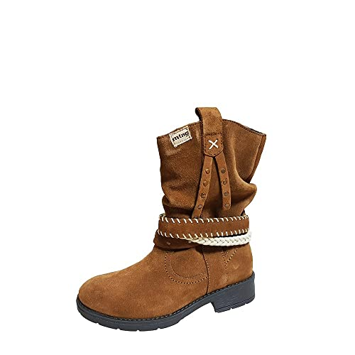 MTNG Amelia, Botines Infantil, Marrón (Suede Camel), 37 EU: Amazon.es: Zapatos y complementos