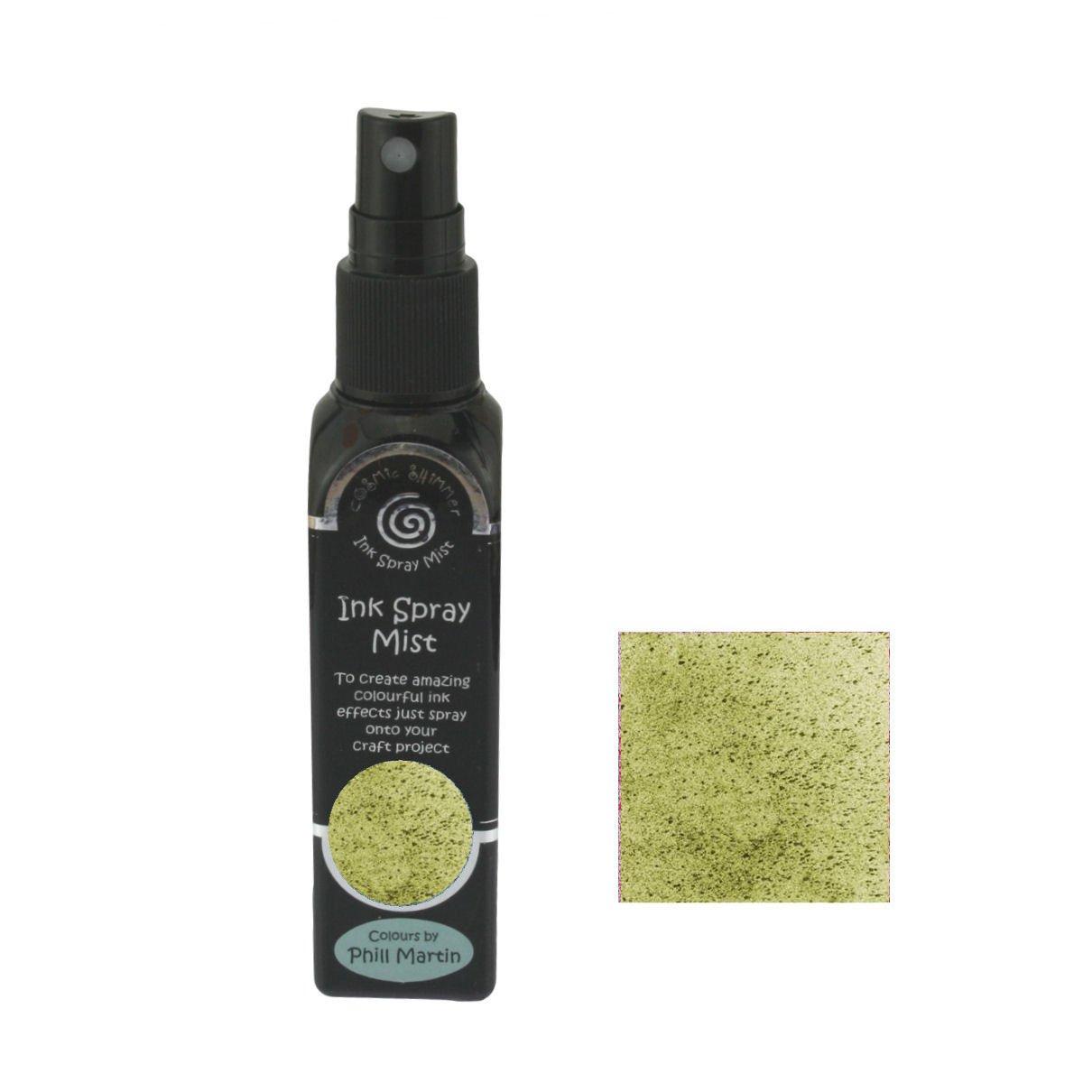 Cosmic Shimmer Ink Spray Mist 50ml - Chic Moss