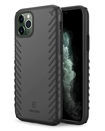 Amazon.com: EUASOO Funda para iPhone 11 Pro, PC + TPU suave ...