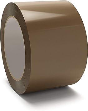 3 Rolls of TRENDWEARZ Packing Tape Buff Brown Rolls