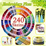 Embroidery Floss 240 skeins 100% Egyptian