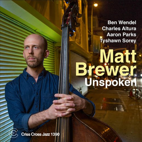 Matt Brewer - Unspoken  cover