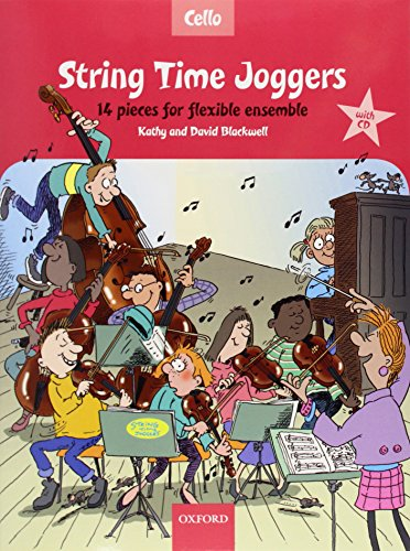 String Time Joggers Cello book: 14 pieces for flexible (String Time Joggers)