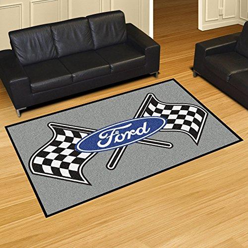 (NASCAR Ford Flags 5 x 8 Rug, 60