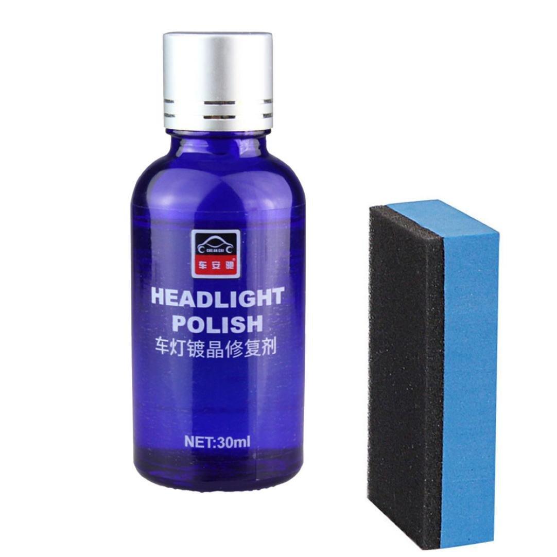 Chezaaカーポリッシュ、硬度9H カーリキッドセラミックコート スーパー疎水性ガラスコーティング B07D6R3GQ4  ブルー