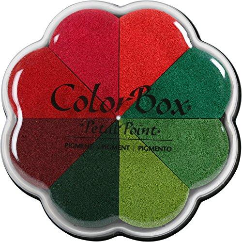 ColorBox 8037 Pigment Petal Inkpads, 4.25 X 4.75, Poinsettia