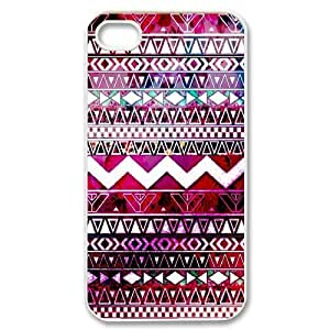 Aztec Tribal Pattern DIY Cover Case for Iphone 4,4S,personalized phone case ygtg537367