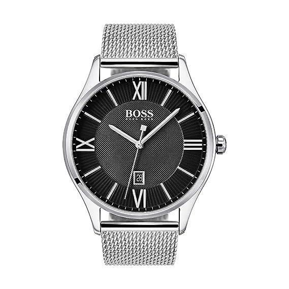 Hugo Boss - Reloj Solo Tiempo con Correa de Acero para Hombre: Amazon.es: Relojes