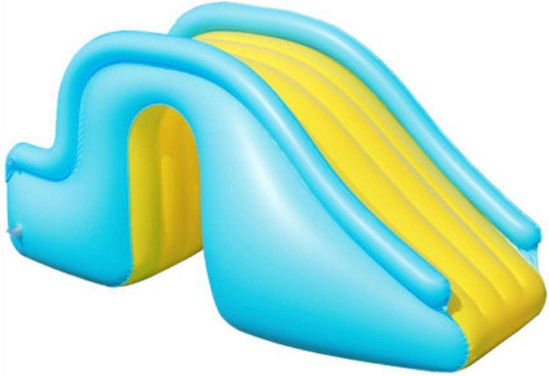 Tobogán Hinchable para Piscina Tobogán Hinchable Instalación Recreativa De Juegos Acuáticos, Los Escalones Ensanchados Son Fáciles De Subir Más Estable Y Seguro, para El Jardín Al Aire Libre