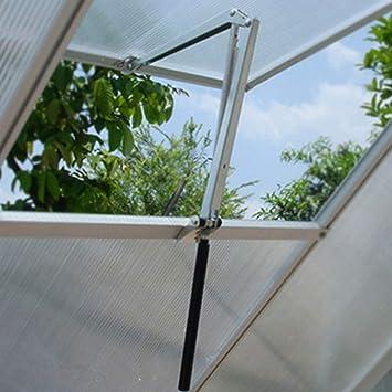 Dyda6 Abridor de Ventanas de Invernadero automático agrícola Solar Sensible al Calor abridor de Ventanas Invernadero