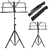 ValueWay Metal Adjustable Music Sheet Stand HolderValueWay Folding Foldable & Carry Case Bag