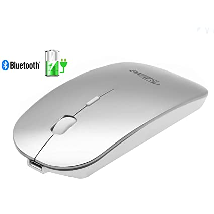 81e9b56a2b1 Bluetooth Mouse Rechargeable - Tsmine Newest Upgrade Slim Silent Wireless  Mice for MacBook Pro/Air