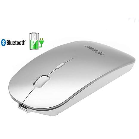 Amazon.com: Tsmine - Ratón inalámbrico Bluetooth recargable ...