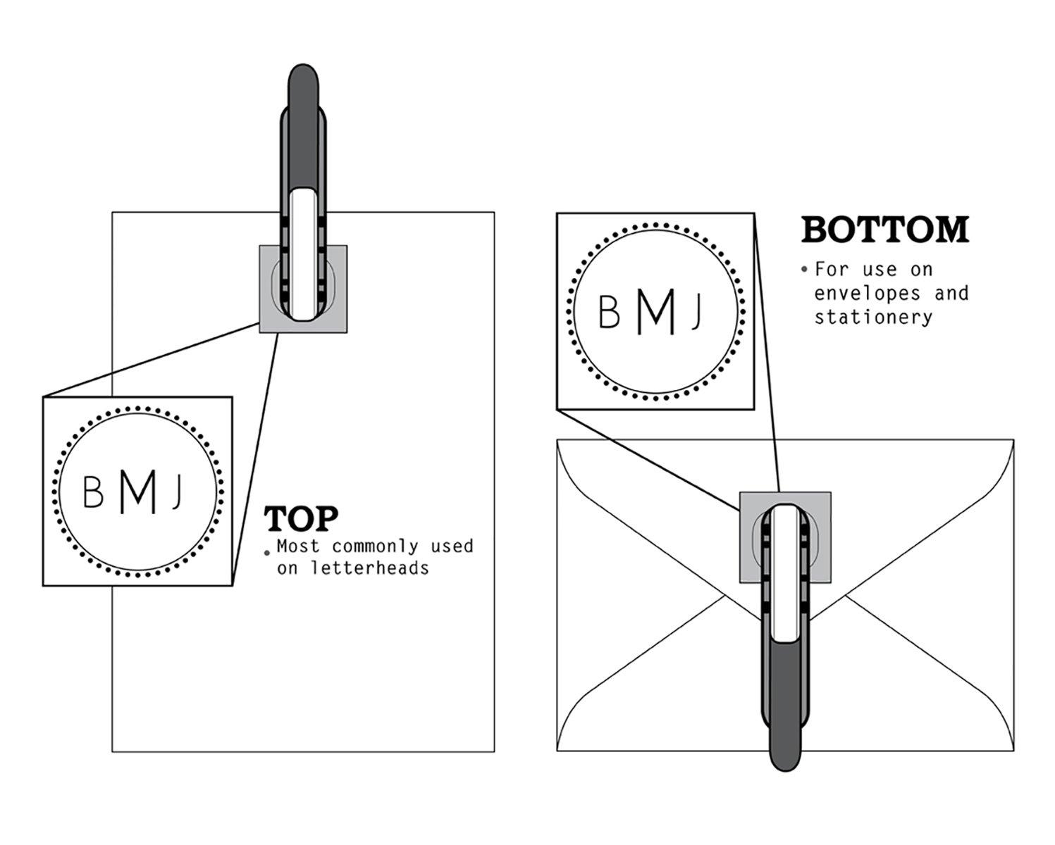 Monogram Gift Embosser Style 24 ExcelMark Hand Held Embosser