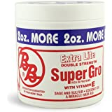 Bronner Brothers Super Gro Extra Lite Double Strength, 6 oz