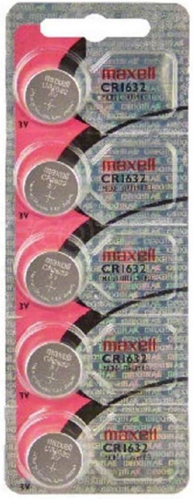 Maxell Cr 1632 Cr1632 Lithium Knopfzelle 3v Im 5er Elektronik