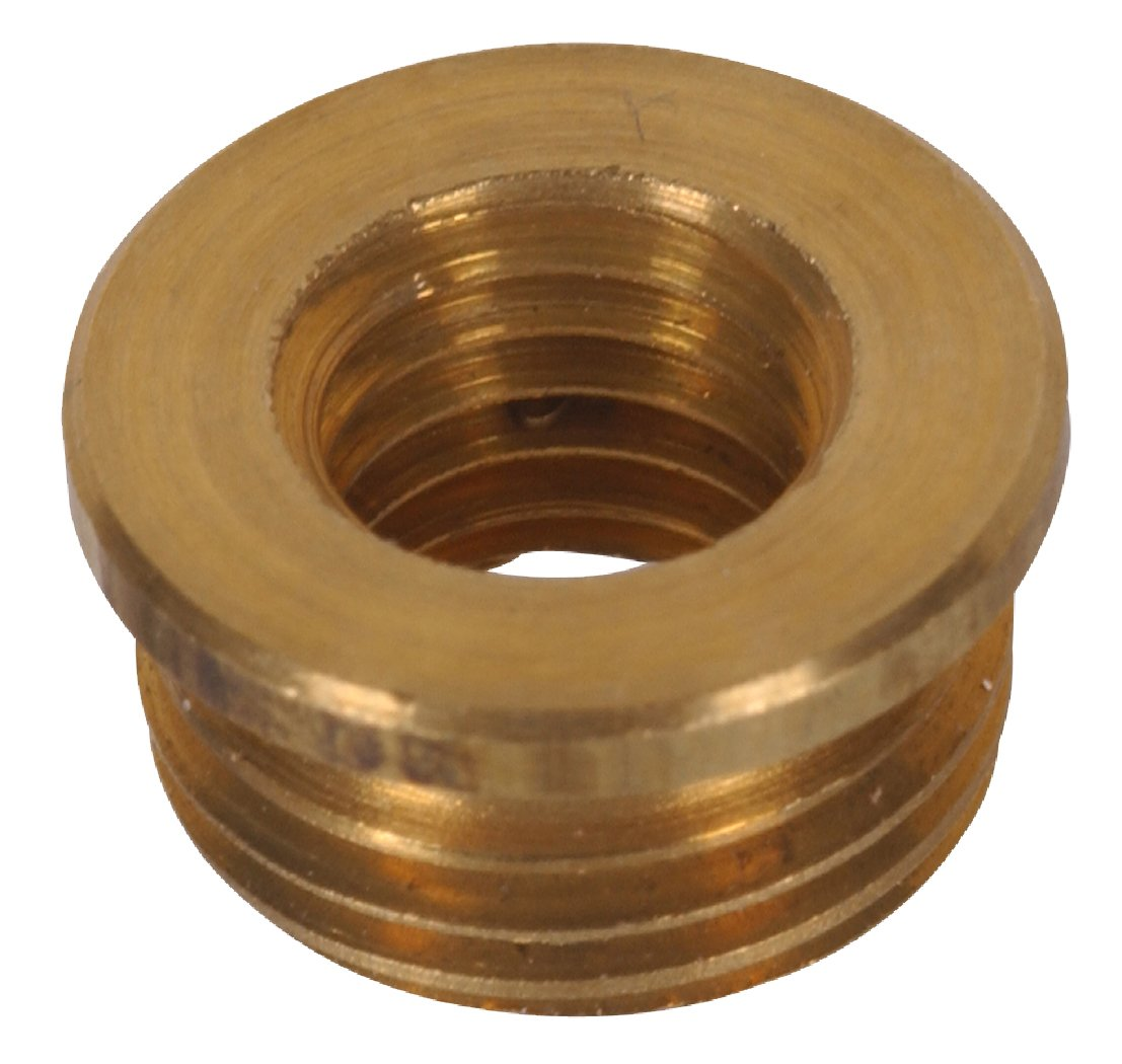 The Hillman Group 54023 Reducer 1 4 27 1 8 27 Inch Antique Brass 10 Pack