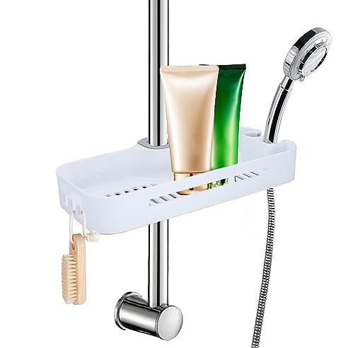 lef duschablage zum hngen praktisches duschregal ohne bohren zu montieren mit 2 haken - Duschzubehor Zum Hangen