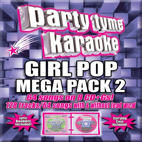 Mega Karaoke (Party Tyme Karaoke - Girl Pop Mega Pack 2 [8 CD][64+64 Song Party Pack])
